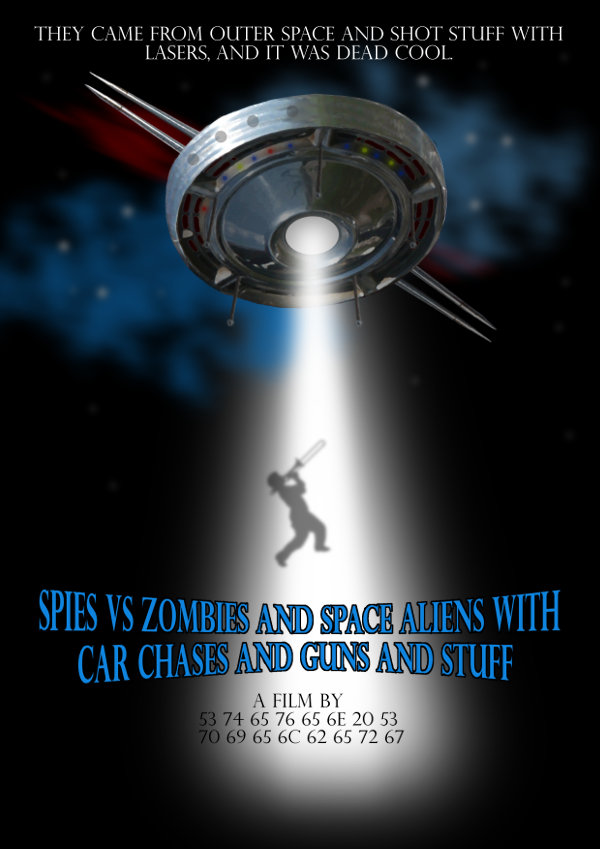 Movie Poster: Spies Vs Zombies