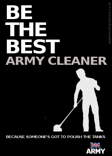 Be the Best - Army Cleaner