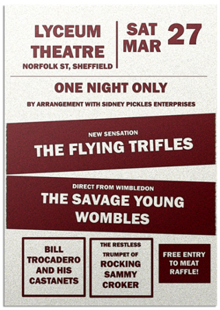 The Flying Trifles poster