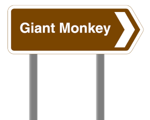 Sign to Giant Monkey